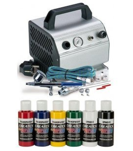 Set Airbrush Textile Intermediate