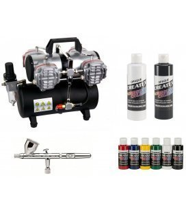 Set Airbrushing Textile Professional
