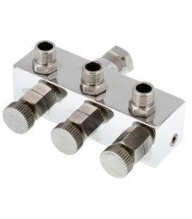 Connector, 3 spray guns with Reg. Air (1/8)