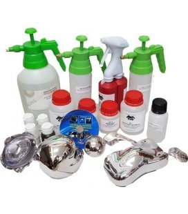 Kit de Chrome Pur en Aerosols