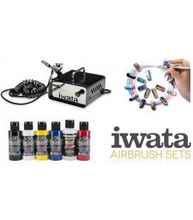 Set Airbrush Nail Professional
