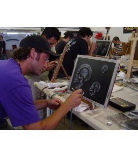 37th Course Airbrushing Basic Intensive - 6 OCTOBER