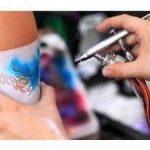 Gemälde Airbrush Tattoos