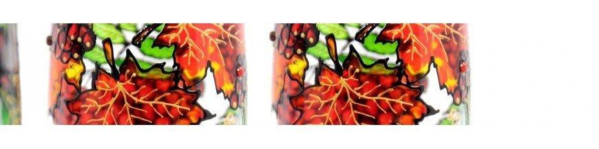 Farbe Glas / Glas, Transparent