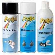 Sprays, Reinigung
