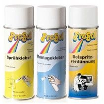 Sprays Pegamento