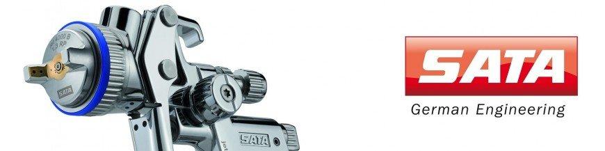 Pistolen von Sata-Retusche
