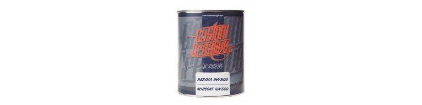 Resinas, Redutores e Aditivos Custom Creative