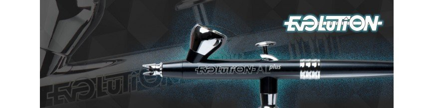 Aerógrafos Evolution Silverline Harder & Steenbeck