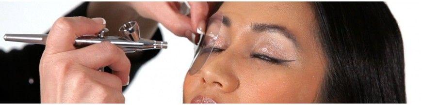 Spritzpistolen-Make-Up