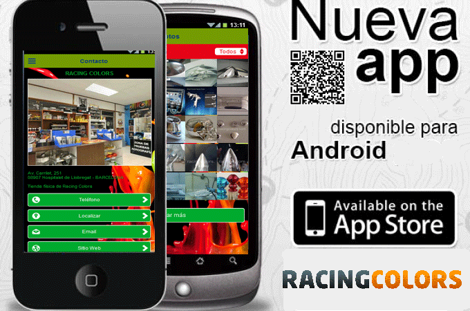 App Racing Colors